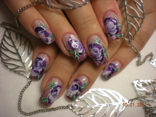 Наращивание ногтей на дому майкоп